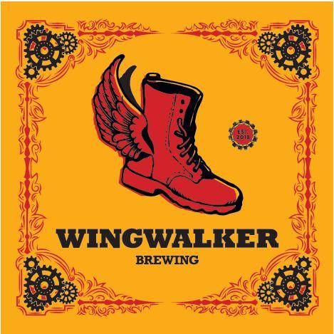 Wingwalker Brewing logo for sponsorship and tasting