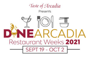 Dine Arcadia Logo for footer