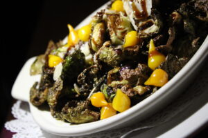 The Derby brussel sprouts dish